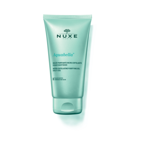 NUXE AQUABELLA Mikro-hámlasztó tisztító gél kombinált bőrre 150ml