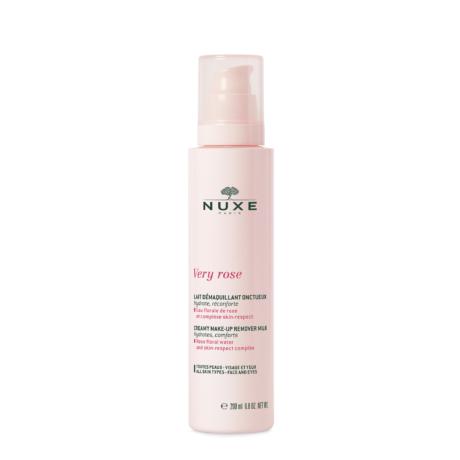 Nuxe Very Rose Krémes Sminkeltávolító Tej 200ml