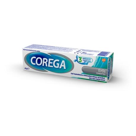 Corega Erős ízmentes műfogsorrögzítő krém 40g