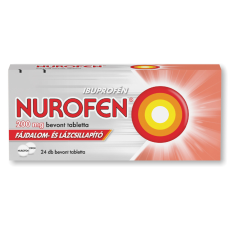Nurofen 200 mg bevont tabletta 24x