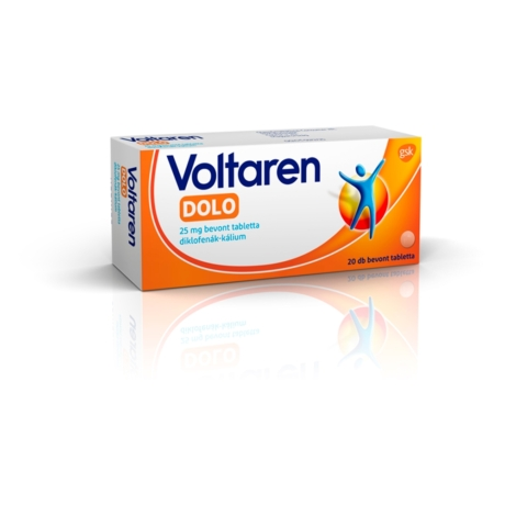 Voltaren Dolo 25 mg bevont tabletta 20x