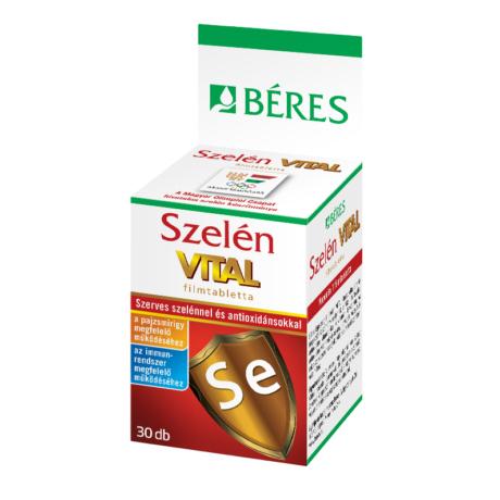 Béres Szelén Vital filmtabletta 30x