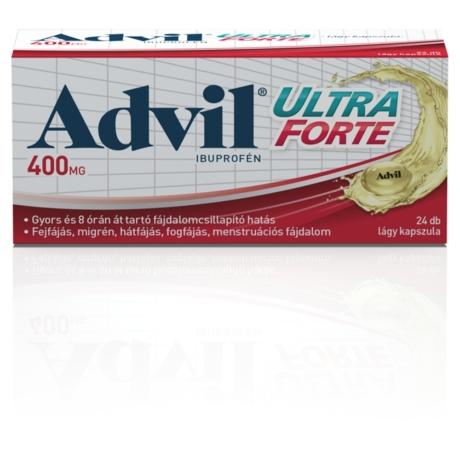 Advil® Ultra Forte lágy kapszula 24x