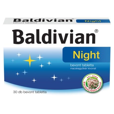 Baldivian® Night bevont tabletta 30x