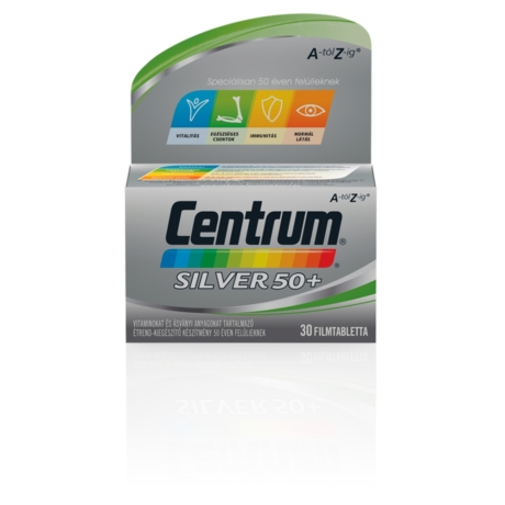 Centrum® Silver 50+ A-tól Z-ig® multivitamin 30x