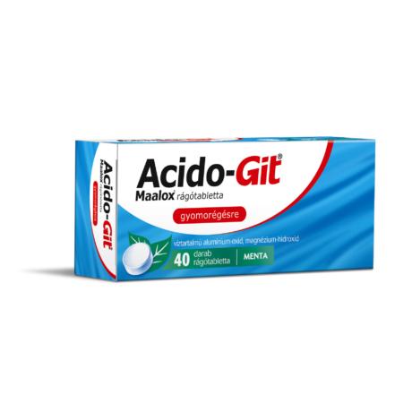 Acido-GIT Maalox rágótabletta 40x