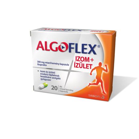 Algoflex Izom+Ízület 300mg retard kemény kapszula 20x