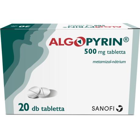 Algopyrin 500mg tabletta 20x