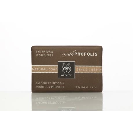 APIVITA Natúr szappan propolisszal, zsíros bőrre 125g
