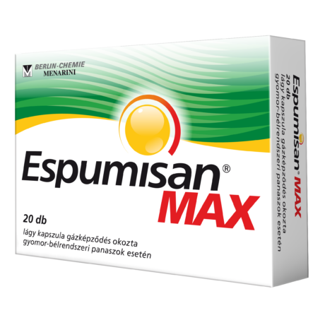 ESPUMISAN® MAX 140 mg lágykapszula 20x
