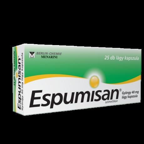 ESPUMISAN® Gyöngy 40 mg lágykapszula  25x