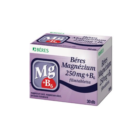 Béres Magnézium + B6 filmtabletta 30x