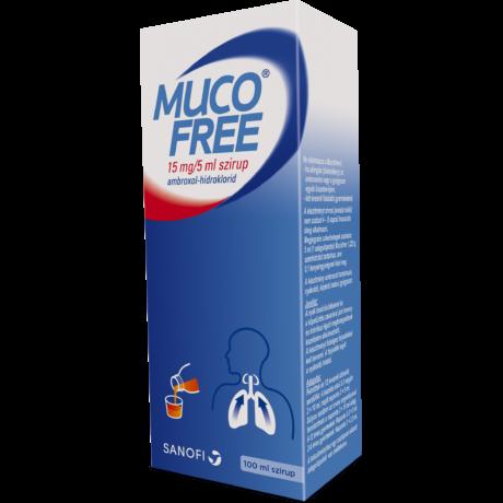 Mucofree 15mg/5 ml szirup 100ml