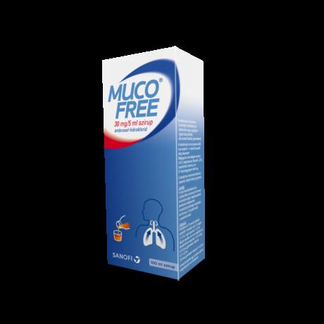 Mucofree 30mg/5 ml szirup 100ml