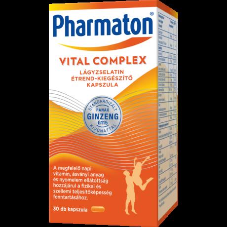 Pharmaton Vital Complex lágyzselatin étrend-kiegészítő kapszula 30x