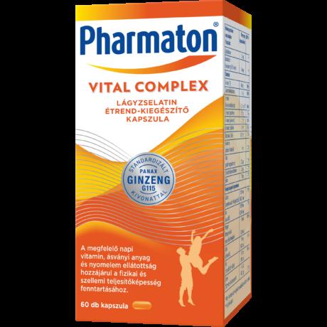 Pharmaton Vital Complex lágyzselatin étrend-kiegészítő kapszula 60x