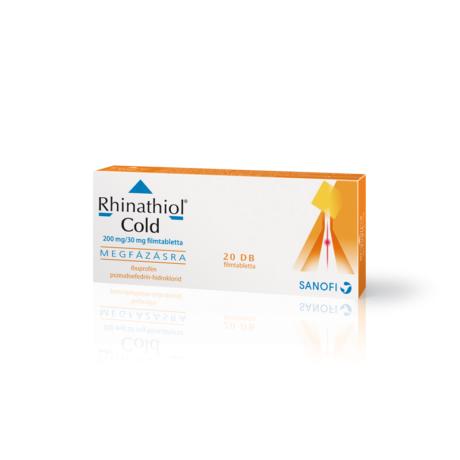 Rhinathiol Cold 200 mg/ 30 mg filmtabletta 20x