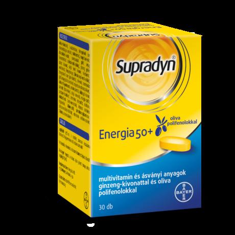 Supradyn® Energia 50+ filmtabletta 30x