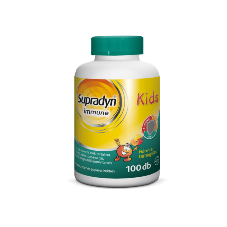 Supradyn Immune Kids gumivitamin 100x