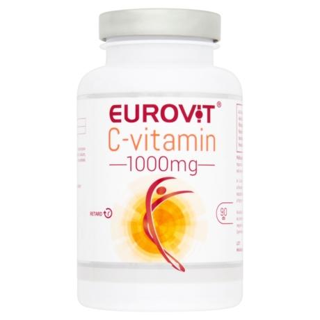 Eurovit C-vitamin 1000 mg retard filmtabletta 90x