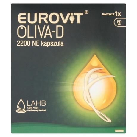 Eurovit Oliva-D 2200 NE kapszula 60x