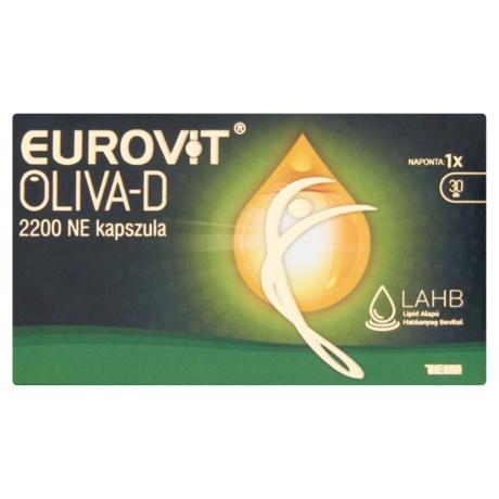 Eurovit Oliva-D 2200 NE kapszula 30x