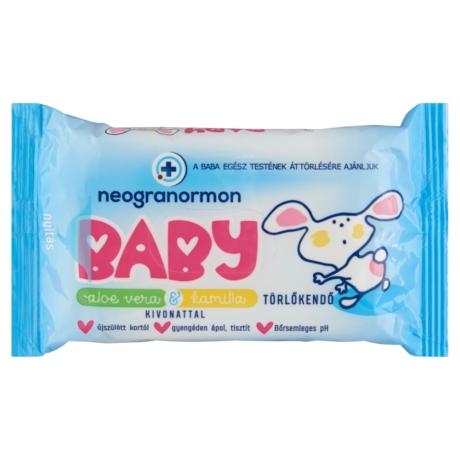 Neogranormon Baby törlőkendő 55x