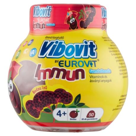 Vibovit by Eurovit Immun bodza ízű gumivitamin 50x
