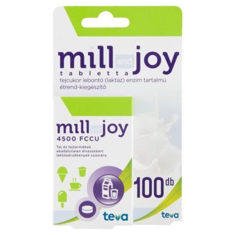 Millandjoy laktáz enzim rágótabletta  100x