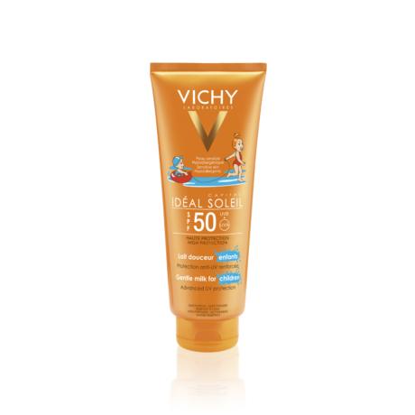 Vichy Idéal Soleil napvédő tej gyerekeknek SPF 50 300 ml