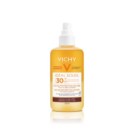 Vichy Idéal Soleil ultra-könnyű napvédő spray béta-karotinnal SPF30 200ml