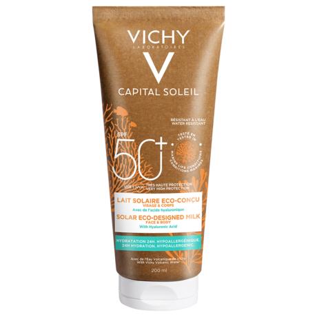 Vichy Capital Soleil naptej SPF 50+ környezetbarát csomagolásban 200ml