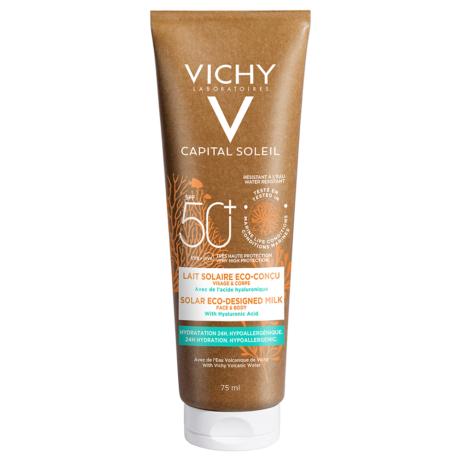 Vichy Capital Soleil naptej SPF 50+ környezetbarát csomagolásban 75ml