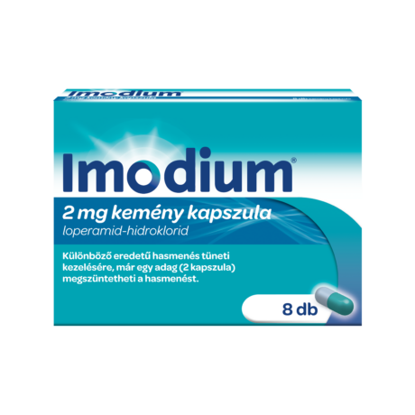 Imodium 2 mg kemény kapszula 8x