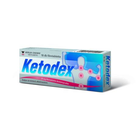 Ketodex® 25 mg filmtabletta 10x