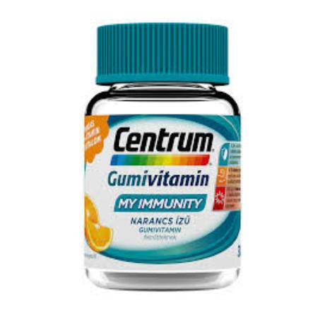 Centrum My Immunity gumivitamin narancs ízű 30x