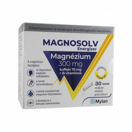 Magnosolv energizer 300 mg granulátum 30x