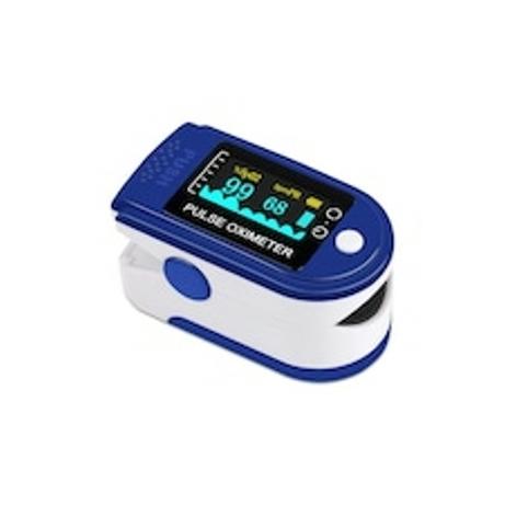 Pulzoximéter (pulzusmérő, véroxigénszint mérő) ujjra csiptethető készülék 1x
