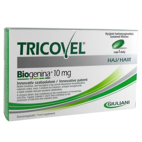 Tricovel Biogenina 10 mg tabletta 30x