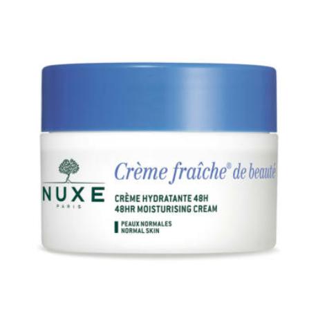 NUXE CREME FRAICHE 48 órás hidratáló arckrém normál bőrre 50ml