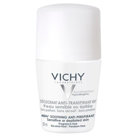 Vichy golyós dezodor érzékeny vagy epilált bőrre 50 ml