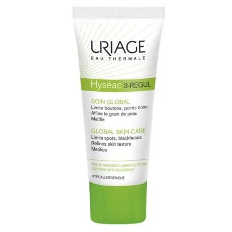 Uriage HYSÉAC 3-REGUL KRÉM - Mitesszeres és pattanásos bőrre 40 ml