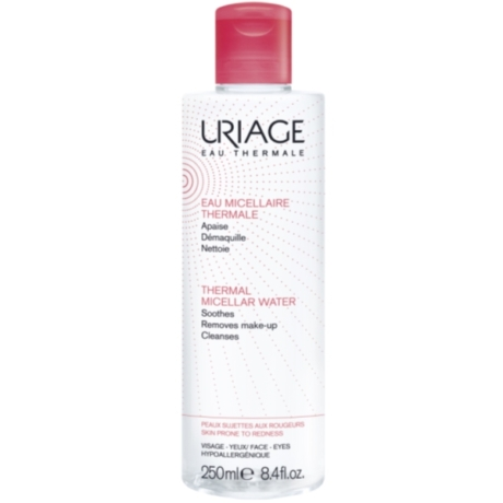 Uriage MICELLÁS ARC- ÉS SMINKLEMOSÓ - Érzékeny, kipirosodó bőrre 250 ml