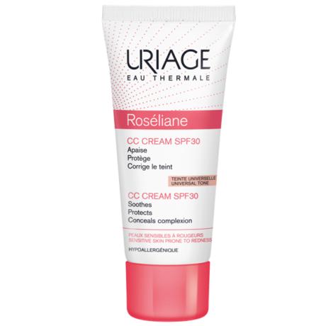 Uriage ROSÉLIANE CC Krém SPF30 kipirosodás ellen 40 ml