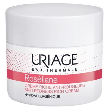 Uriage ROSÉLIANE RICHE krém kipirosodás/rosacea ellen 50 ml