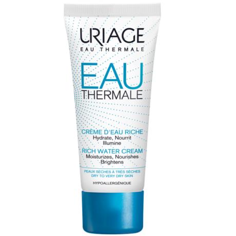 URIAGE TERMÁL Hidratáló arckrém RICHE száraz bőrre 40 ml
