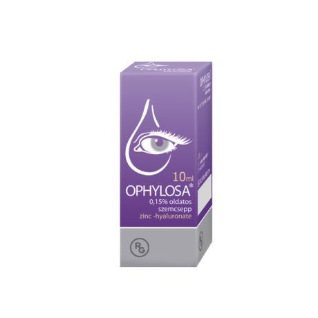 Ophylosa 0,15% szemcsepp 10ml
