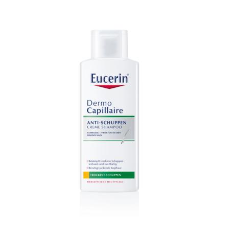 Eucerin DermoCapillaire Korpásodás elleni sampon száraz korpára 250ml