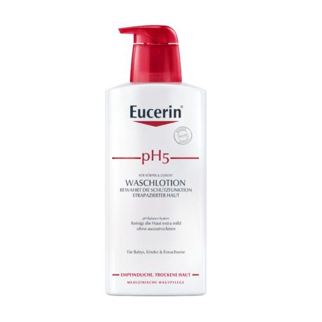 Eucerin pH5 Folyékony mosakodószer (pumpás) 400ml