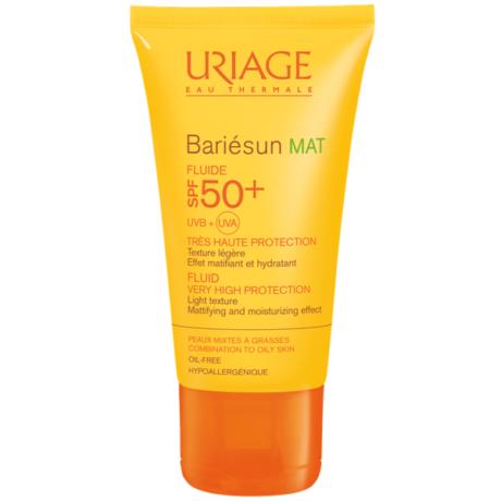 Uriage BARIÉSUN MAT arckrém zsíros bőrre SPF50+ 50ml
